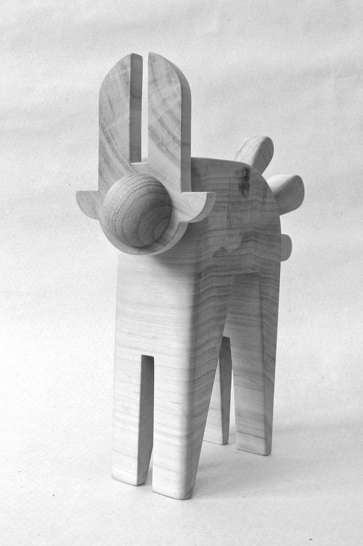 veronika watzková - wooden toy