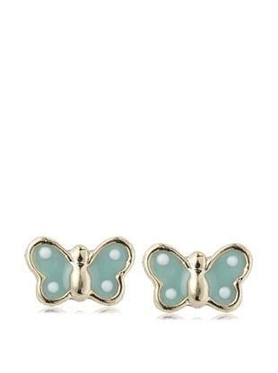 35% OFF Mindy Harris Baby Mint Butterfly Screw Back Earrings