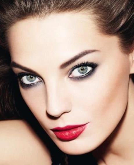 Daria Werbowy Lancome: Daria Werbowy For LANCOM 'Hypnose Star' Mascara Ad