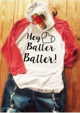 Hey Batter Batter Baseball T-Shirt