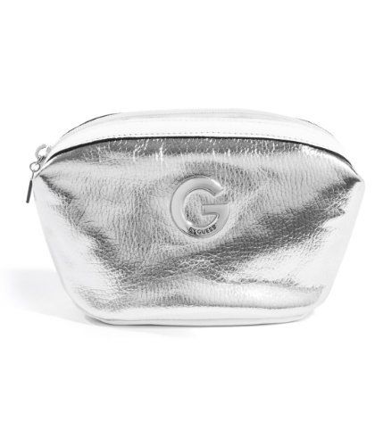 G by GUESS Nally Cosmetic Case, SILVER G by GUESS. $7.48