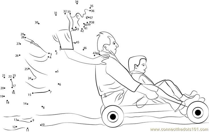 Best Dad Dot To Dot Printable Worksheet Dad Holiday Best Dad Dots