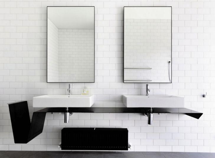 17 Best Ideas About Bathroom Mirror With Shelf On Pinterest: 17 Best Ideas About Modern Bathroom Mirrors On Pinterest