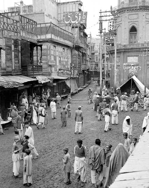 Pakistan. Peshawar, 1947. The Partition of a Nation. In 1947 the British Raj became the two independent nations, India and Pakistan