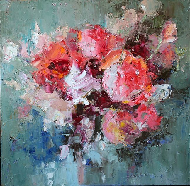 Pin by Kaye Harris on Art in 2020 Abstract flower
