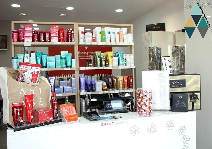 J Ai Teste Le Rituel De Soin Nutrition En Salon De Coiffure Saint Algue Les Liquor Cabinet Liquor Storage