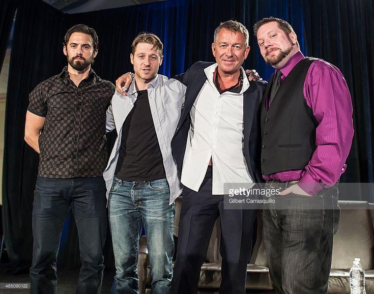 News Photo : Actors Milo Ventimiglia, Ben McKenzie and Sean...