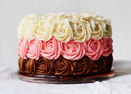 Крем для украшения тортов из шприца. Приемы и техники в украшении тортов