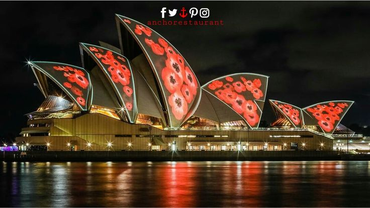We will remember them. Tonight the Opera House sails will be illuminated in poppies from 8pm for Remembrance Day.  #sydneyoperahouse #operahouse #lestweforget #remembranceday #remembranceday2017 #1111 #111111 #sydneyharbour #sydneyharbourbridge #sydneylunapark #wineanddine #pizzaandpasta #milsonspoint #kirribilli #lavenderbay #sydneyrestaurants #sydneycafes #sydneyeats #sydneypizza #sydneypizzeria