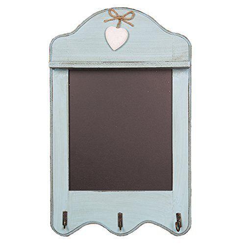 Vintage Chalkboard With Hooks. Wooden duck egg blue frame... https://www.amazon.co.uk/dp/B010VSXNO0/ref=cm_sw_r_pi_dp_x9NjxbWS6REG4