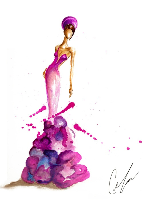 Fashion Art by Claire Thompson