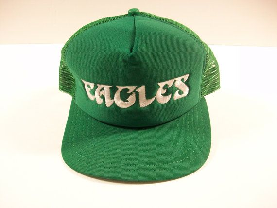 Vintage Philadelphia Eagles Snapback Hat, Philly Eagles Football Mesh Trucker Hat, Eagles Mesh Cap