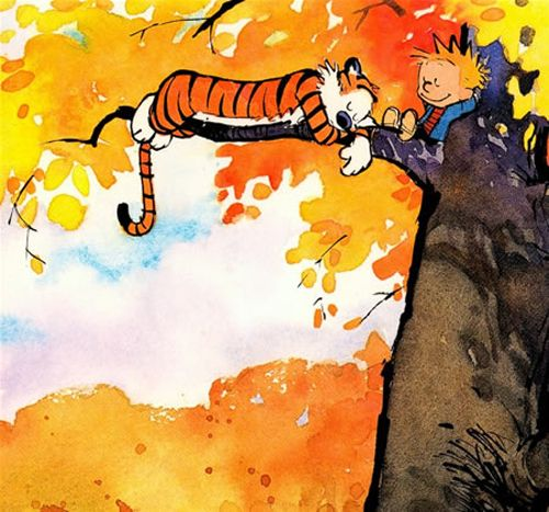 more watercolors by bill watterson trees trees trees