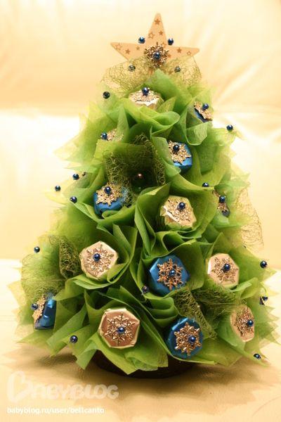Елка из конфет № 11 :) Моя снежная королева! - Сообщество «Рукоделие» / Рукоделие