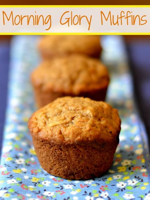 Morning Glory Muffins | Real Food Real Deals #snack #recipe #healthy