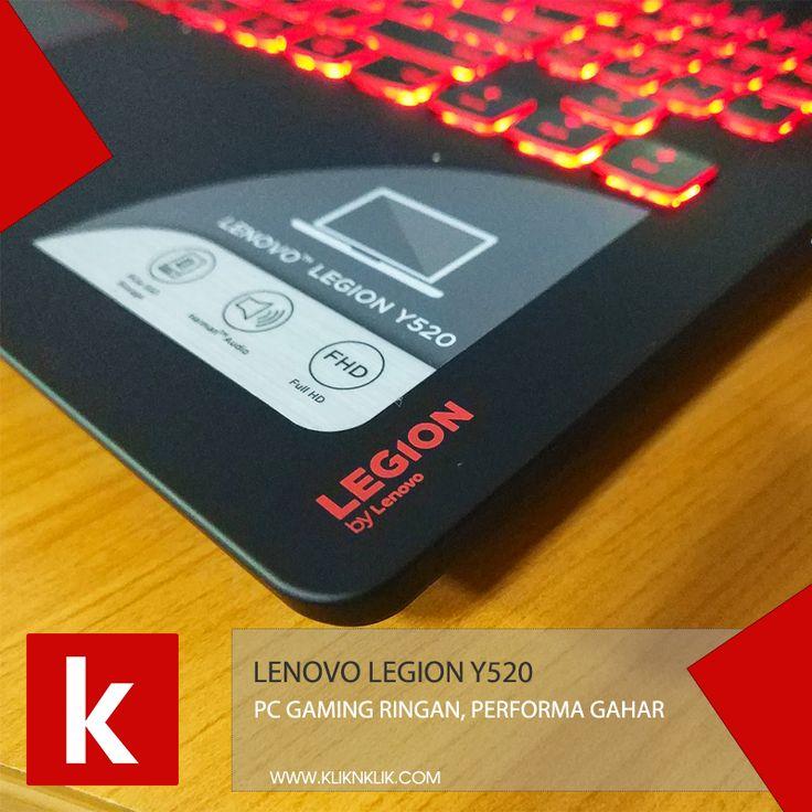 Order sekarang! LENOVO Legion Y520-7700HQ-16GB-1TB sudah tersedia di Kliknklik. Cek produknya!  https://kliknklik.com/brand-laptop/34135-lenovo-legion-y520-7700hq-16gb-1tb-black.html