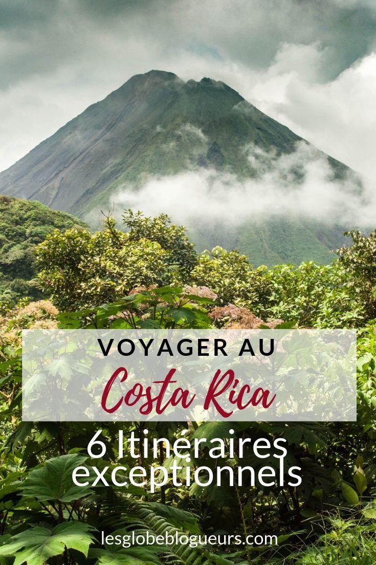 6 itinéraires pour un voyage au Costa Rica de 2 semaines à un mois !