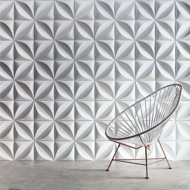 Inhabit Chrysalis Cast Architectural Concrete Tile
