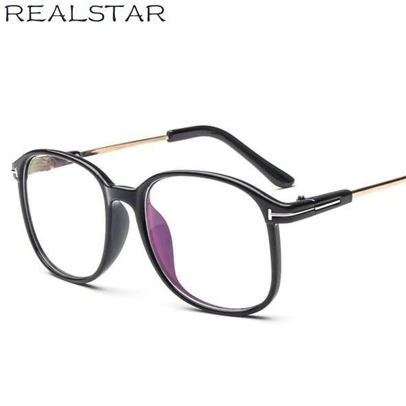 6f8d40a234 REALSTAR 2018 Brand Eyeglasses Frames Women Myopia Eye Glasses Optical Frame  Men Eyewear Tom Fashion Retro Glasses Oculos S288