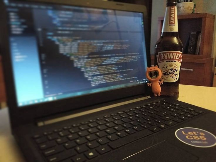 Advantages of working at home? Hm let me think   What are yours?  #workingevening #working #late #saturday #webstagram #webdevelopment #webdeveloper #html5 #css #php #javascript #brackets #tech #technology #design #developer #coding #code #programmerlife #beer #beeratwork