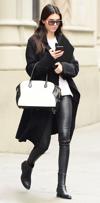 Look of the Day - October 25, 2014 - Kendall Jenner from #InStyle