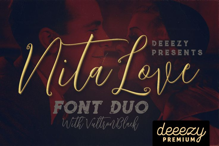 Nitalove Font Duo | Deeezy - Freebies with Extended License