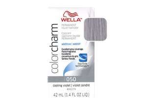 Wella Color Charm Liquid Haircolor 050 Cooling Violet 1.4 oz for my retirement years