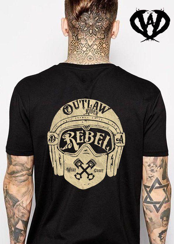 Short sleeve t-shirt REBEL