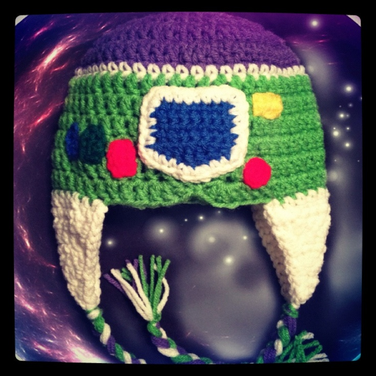 Toy Story Buzz Lightyear Space Ranger Styled Crocheted Hat