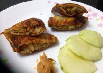 Peanut Butter And Apple Toaster Sandwich Recipe