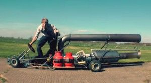 Jet-kart – The most MENTAL kart EVER
