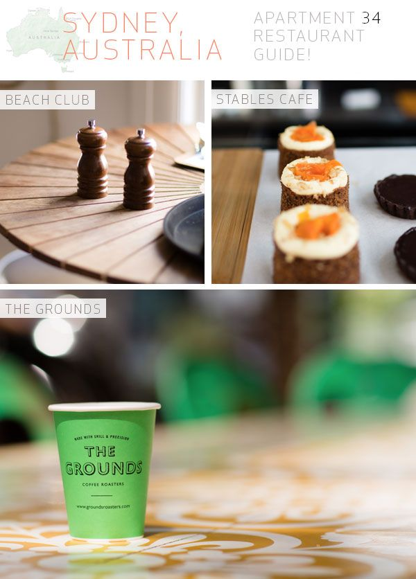 Apartment 34 | Sydney City Guide: {Must Eats!}