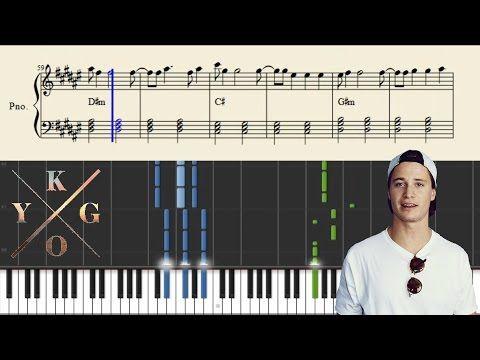 Kygo & Kodaline - Raging - EASY Piano Tutorial + Sheets - YouTube
