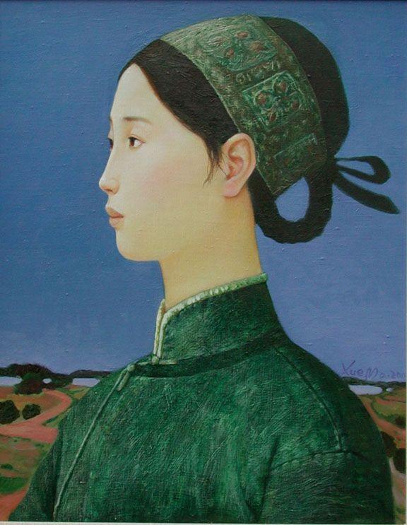 Xue Mo nació en la Mongolia Interior y en la actualidad reside y trabaja en Pekín. Se graduó en 1991 con una licenciatura de Bellas Artes (pintura), y se dedicó a dar clases en Bellas Artes en Bei…