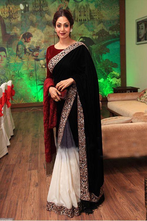 Gorgeous Sridevi Bollywood Replica Saree