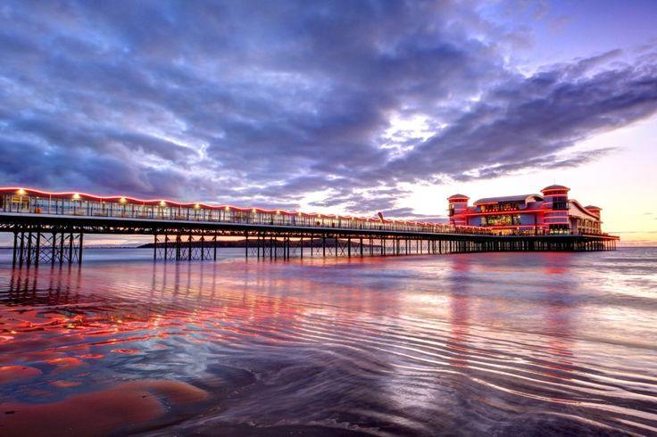 The Grand Pier Sunset, Somerset
