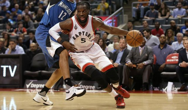 'Blue-collar' DeMarre Carroll ready to help Raptors take the next step