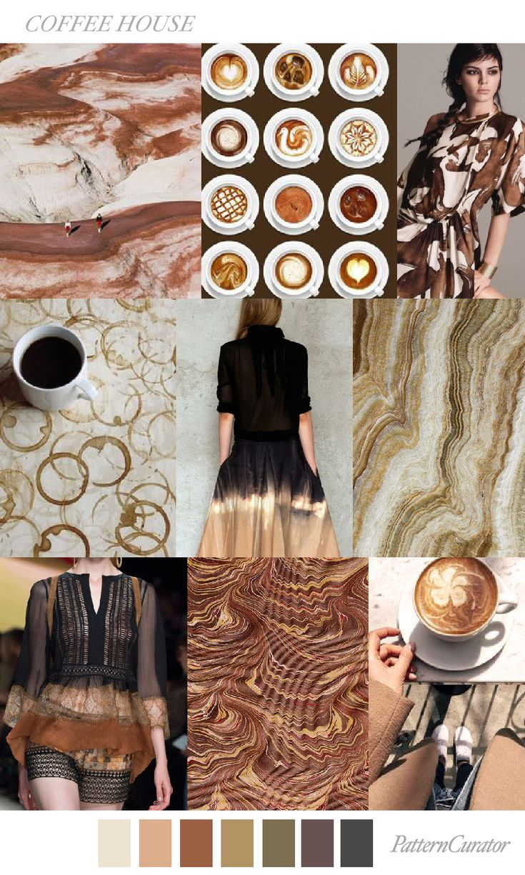 COFFEE HOUSE by PatternCurator #FW18