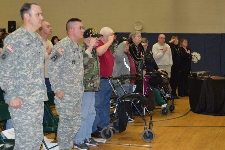 Saturday's event at the Whitefield Regional High School was all about Vietnam veterans and giving them the welcome home they deserved but didn't get so many years ago. The welcome was late, everyone acknowledged, but it was heartfelt, and a gym full of thankful residents came to tell them so.