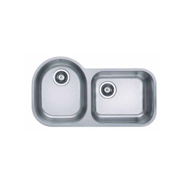 CHIUVETA DE BUCATARIE ALVEUS COLLECTION DUO 40 INGROPAT IN BLAT ,INOX,INCLUS SIFON POP-UP - Iak