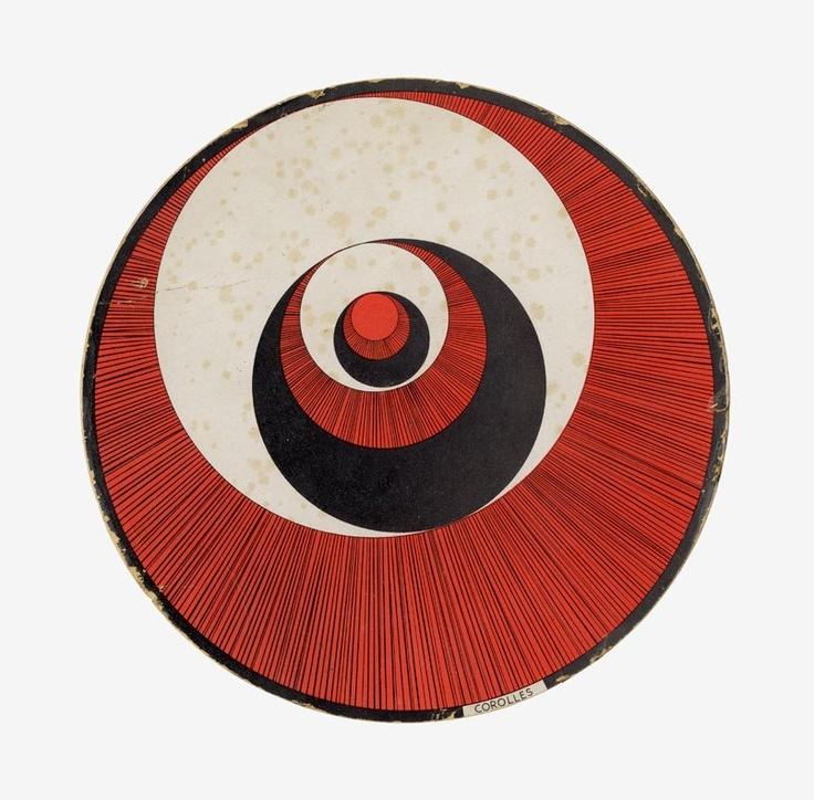 Marcel Duchamp - Rotoreliefs, 1935