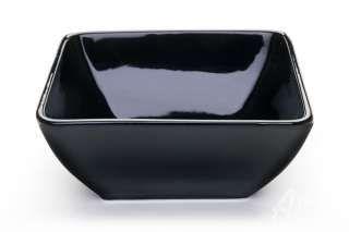Black Square Soup Bowls