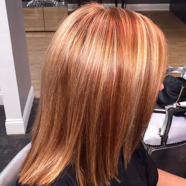 1000 Ideas About Red Blonde Highlights On Pinterest Red