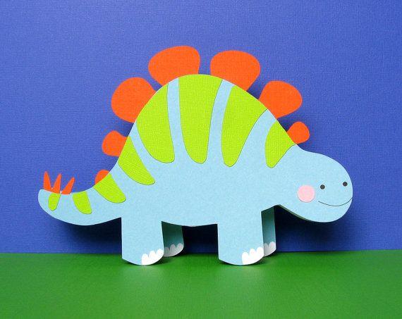 Personalized Dinosaur Birthday card