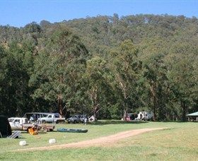 The Steps of Girrba Campground in Barrington, NSW, Australia