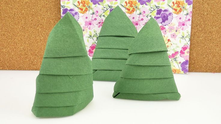 Tannenbaum falten serviette