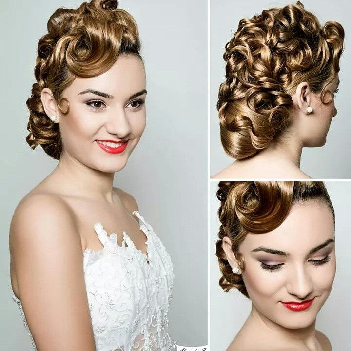 #Spanish #hairstyle #bride