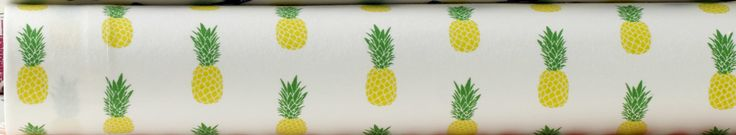Samantha Pineapples 200 Thread Count 100% Cotton Sheet Set