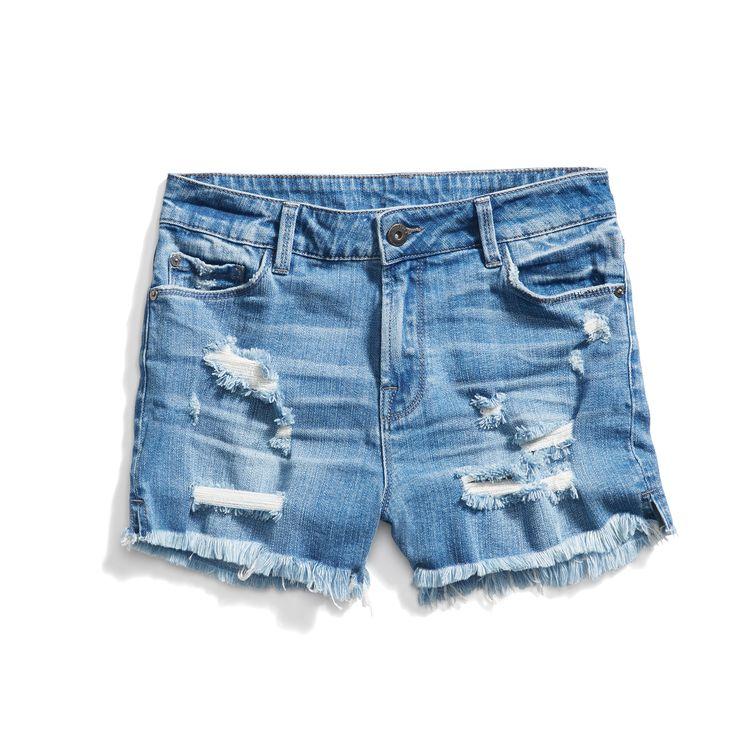 Stitch Fix New Arrivals: Distressed Denim Shorts