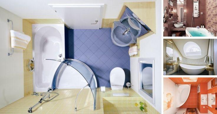33 riešení, ktoré ocení každý majiteľ malej kúpeľne. Inšpirujte sa tými najlepšími riešeniami.